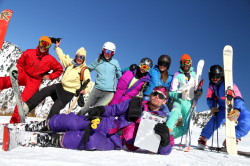 GMD Employees on Snow