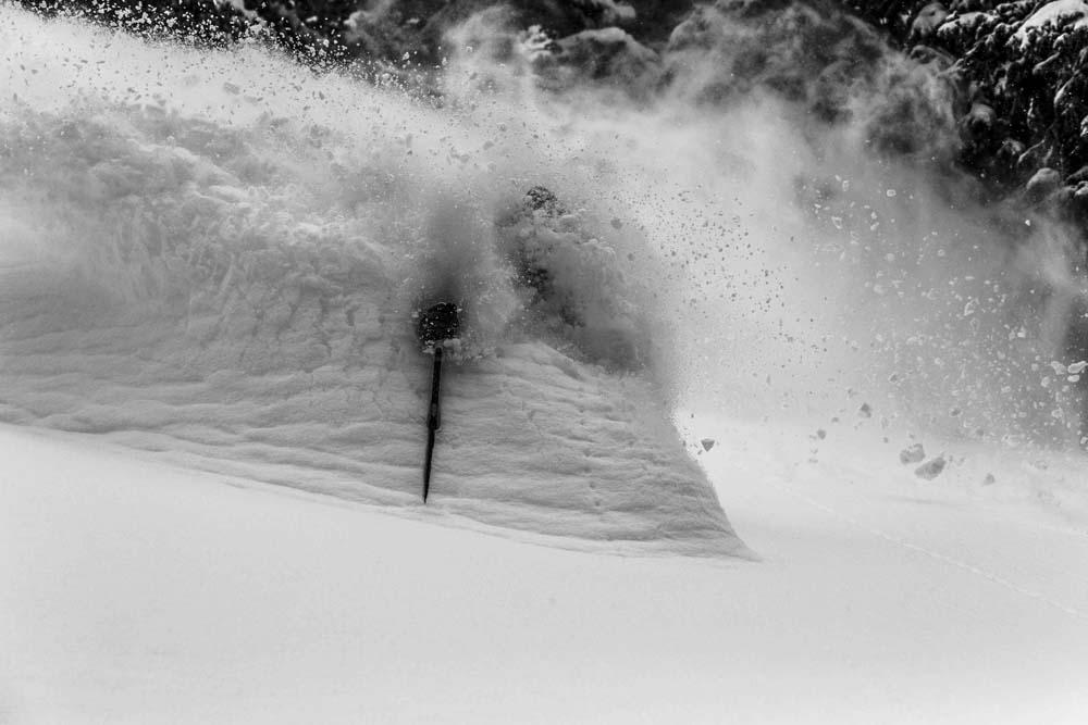 What a Ski-In Ski-Out Job looks like
