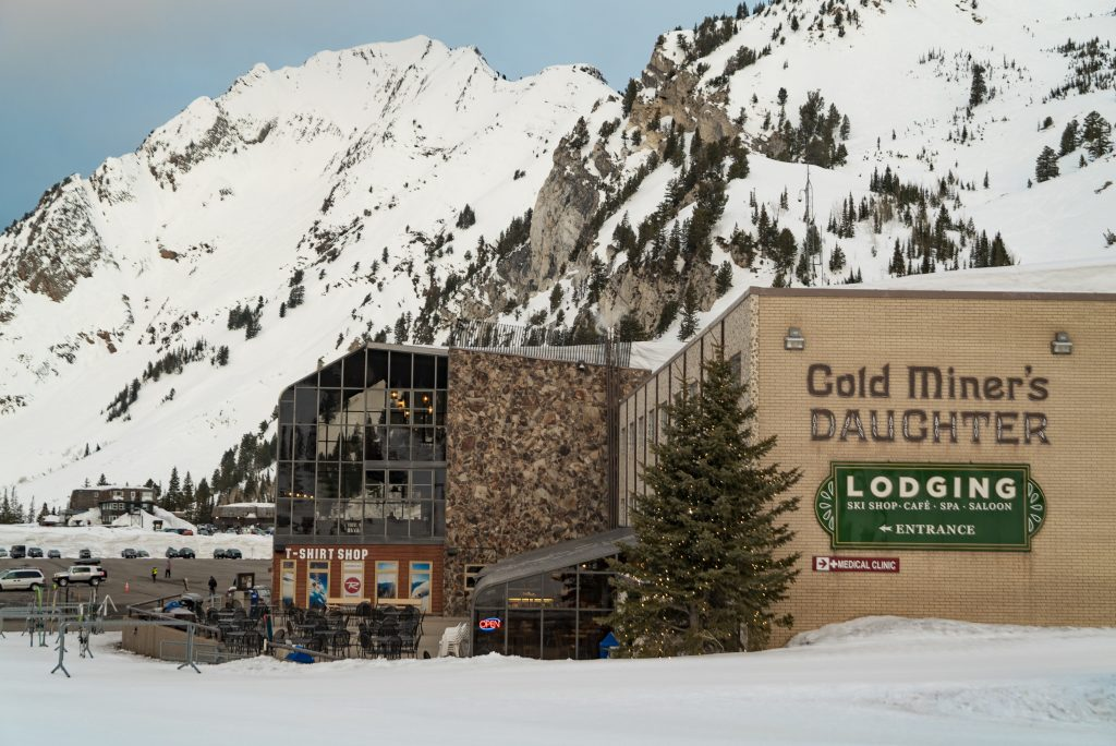 The Goldminer's Daughter Lodge is the closest lodge to the Alta Ski Lifts. Truly a Ski-In Ski-Out Job